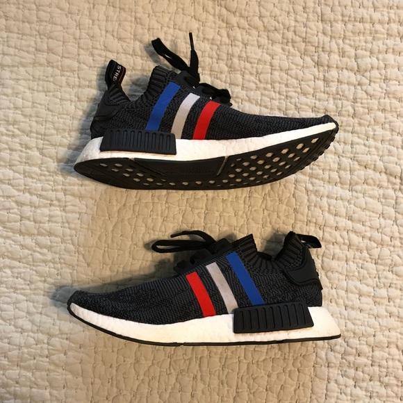 d78d78378 adidas Other - Adidas NMD R1 tri color black Primeknit OG boost